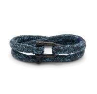 Herren-Armband Salty Steve, blue/slate gray