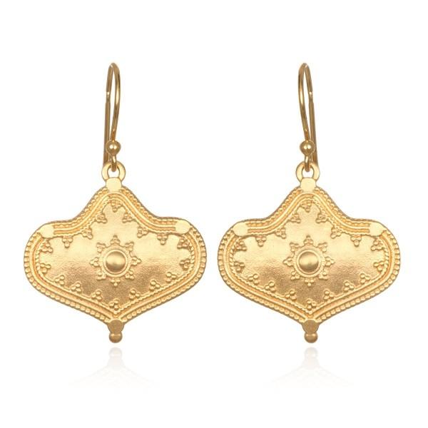 Satya Ohrringe Divine Details, vergoldet