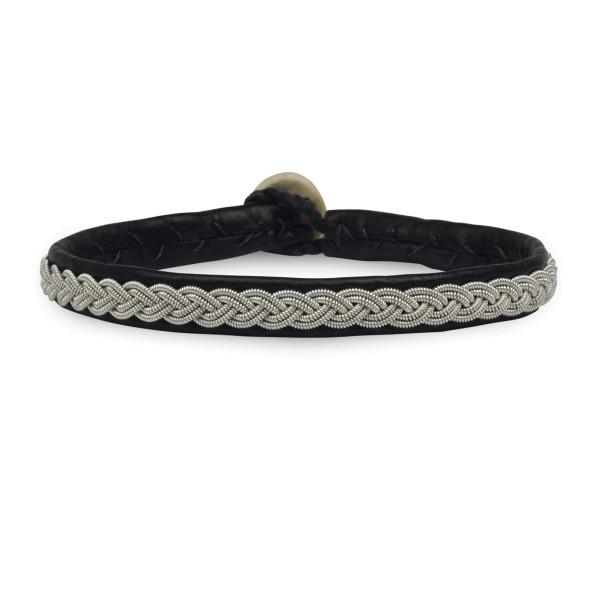 Armband AZ002, Zinnfaden Pur
