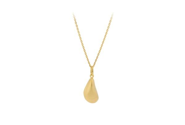 Pernille Corydon Kette Seashell, vergoldet
