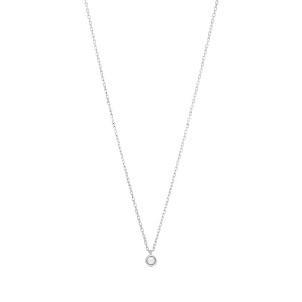Kette Pure mit Perle, Silber