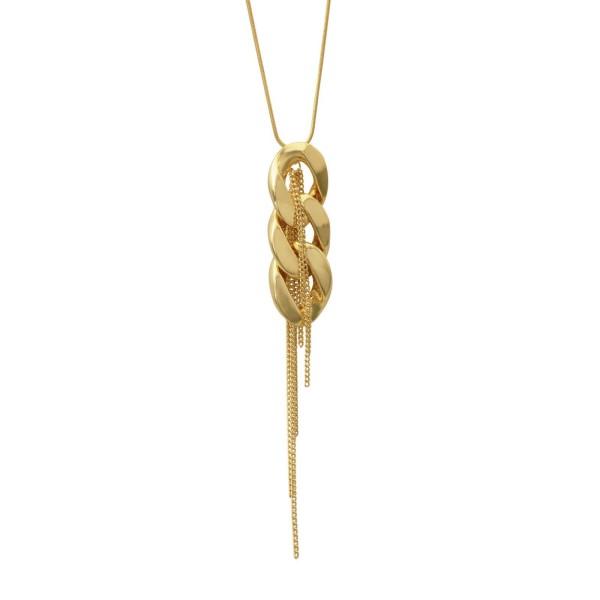 Dansk Kette Quiver Simple Chain, vergoldet