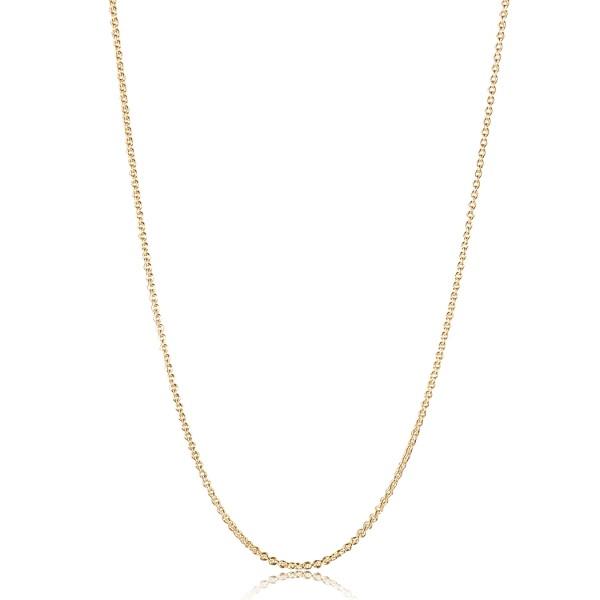 Jeberg Jewellery Kette Anchor, vergoldet