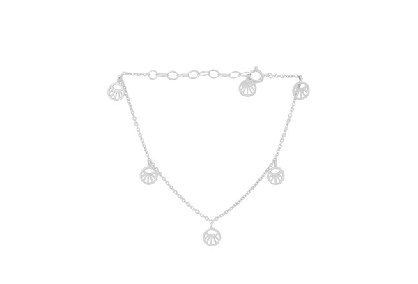 Pernille Corydon Armband Mini Daylight, Silber