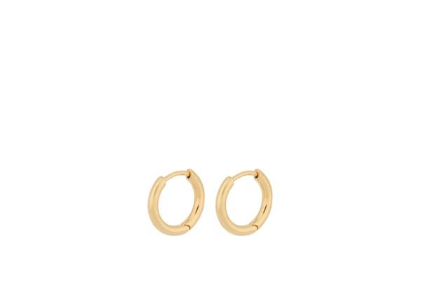 Pernille Corydon Huggie Solid, vergoldet