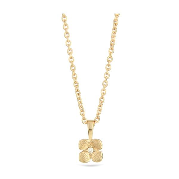 Jeberg Jewellery Kette Hortensia, vergoldet