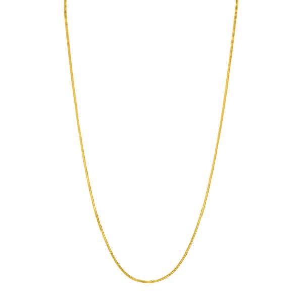 Kette Snake, vergoldet