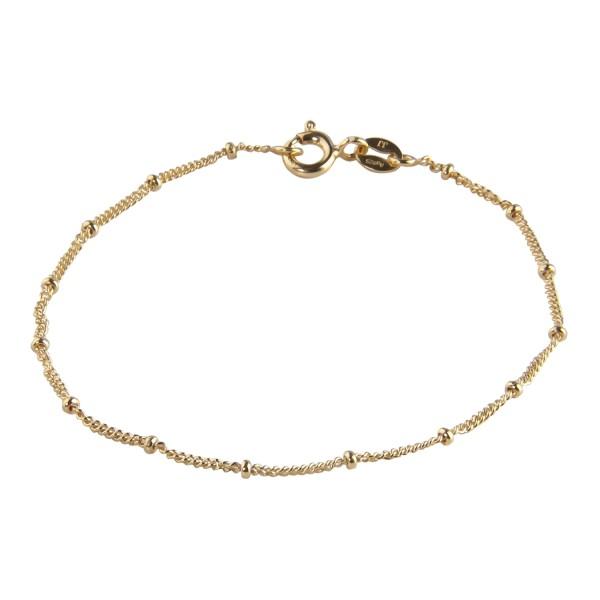 Jeberg Jewellery Armband Nelly, vergoldet