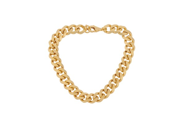Pernille Corydon Armband Rock, vergoldet