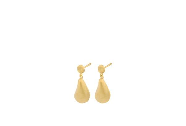 Pernille Corydon Ohrringe Seashell, vergoldet