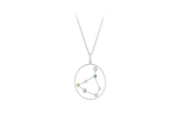 Pernille Corydon Kette Capricorn - Steinbock, Silber