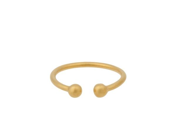 Ring Comet, vergoldet