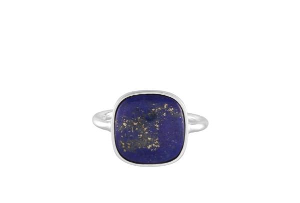 Ring Lapis Lazuli, Silber