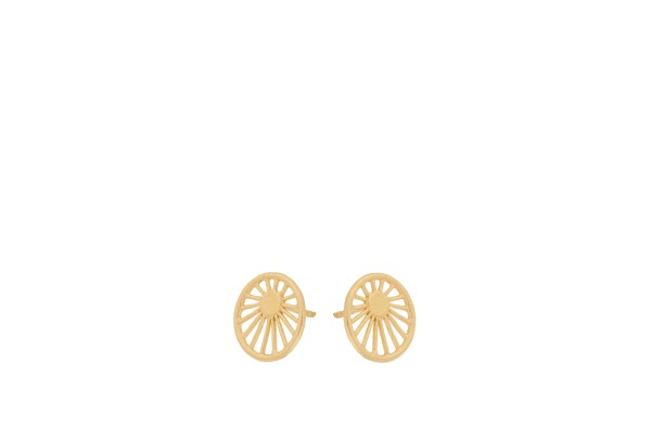Pernille Corydon Ohrstecker Daydream, vergoldet
