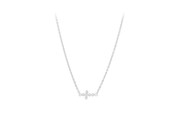 Kette Cross, Silber