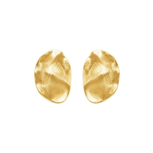 Ohrringe Alaya Rock, vergoldet