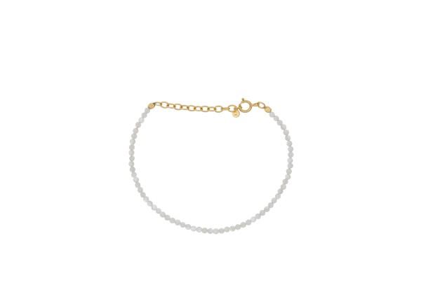 Armband Shell, vergoldet