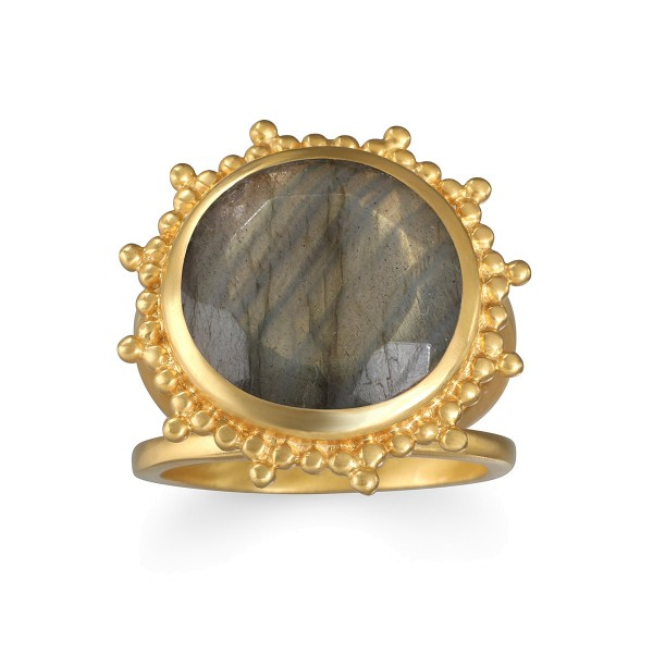 Satya Ring Pursue Your Truth, vergoldet