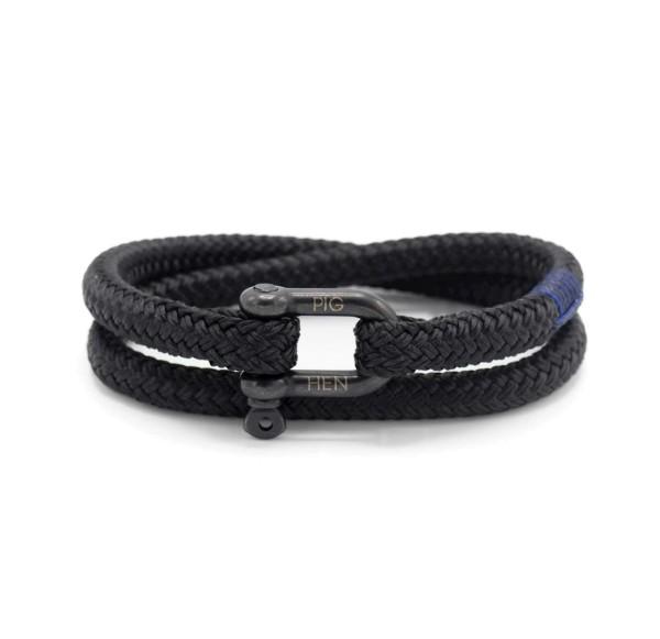 Herren-Armband Salty Steve, black