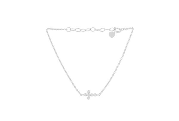 Armband Cross, Silber