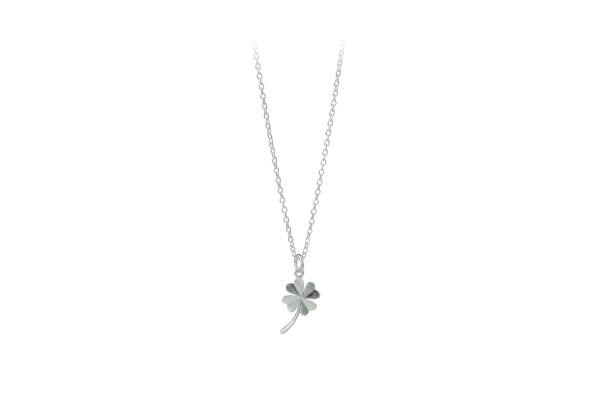 Pernille Corydon Kette Clover, Silber