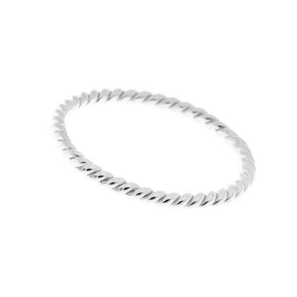 Ring Twist, Silber
