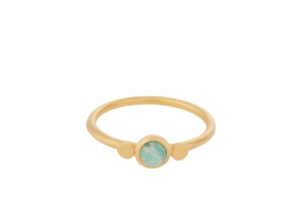 Pernille Corydon Ring Fjord, vergoldet