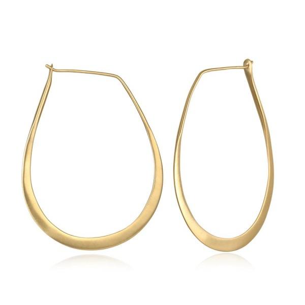 Satya Ohrringe Minimalist Gold Hoop, vergoldet