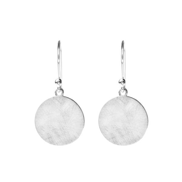 Ohrringe Plättchen, Silber