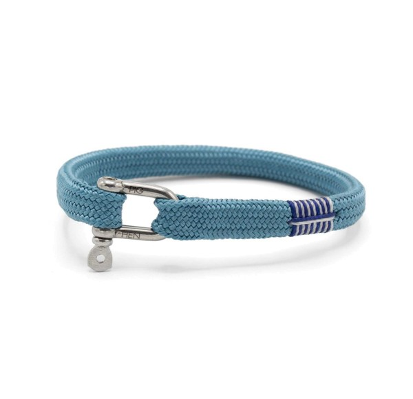 Herren-Armband Vicious Vik, sky blue