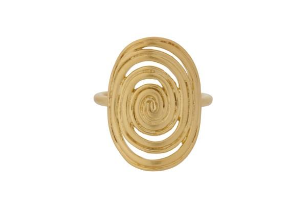 Pernille Corydon Ring Venus, vergoldet