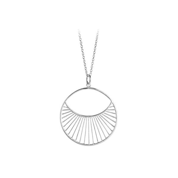 Pernille Corydon Kette Daylight short, Silber