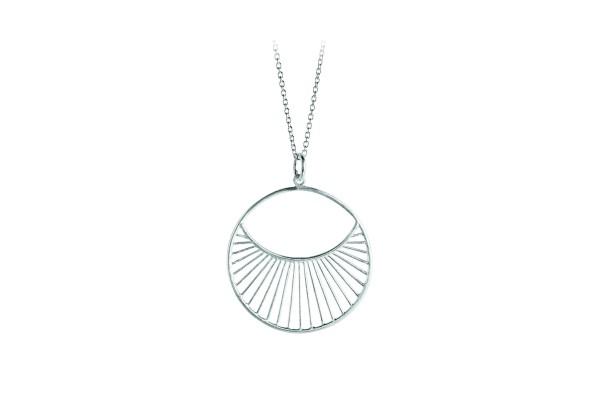 Pernille Corydon Kette Daylight long, Silber