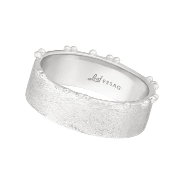 Ring Pure, matt, Silber