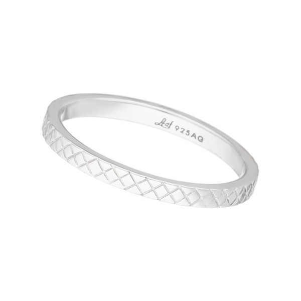 Ring Plaid, Silber