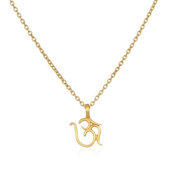 Kette Om Chain, vergoldet