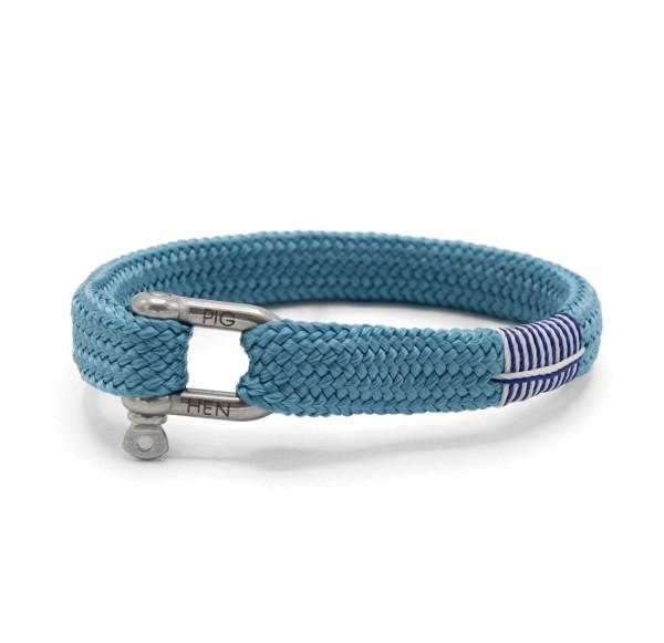 Herren-Armband Sharp Simon, sky blue