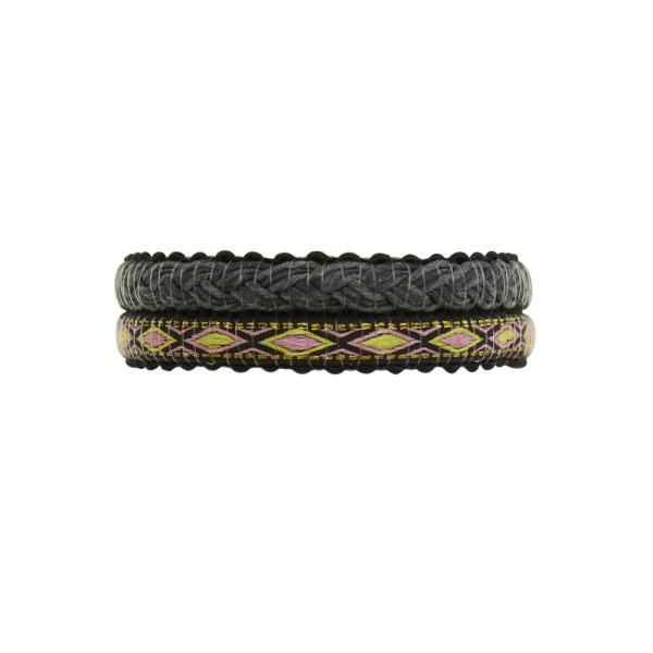 Armband Alexis Knit, Hämatit beschichtet, multi
