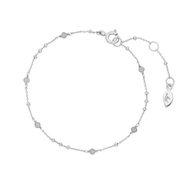 Leaf Armband Flying Gems, Labradorit, Silber