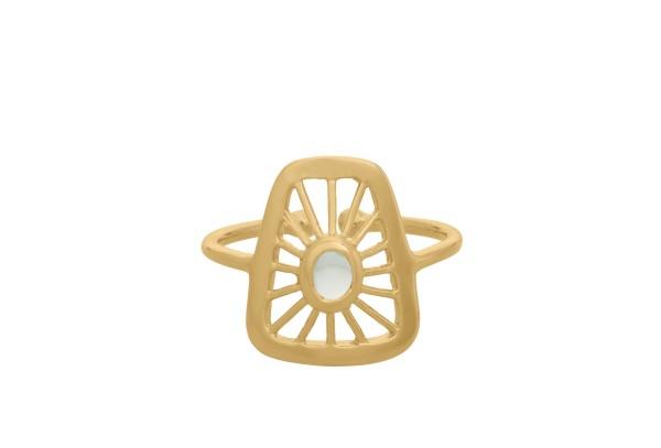 Ring Thilde Small, vergoldet