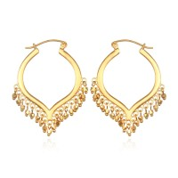 Ohrringe Lustrous Light Gold
