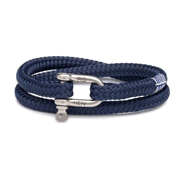 Herren-Armband Salty Steve, navy