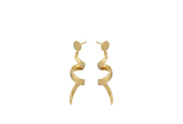 Pernille Corydon Ohrringe Small Loop, vergoldet