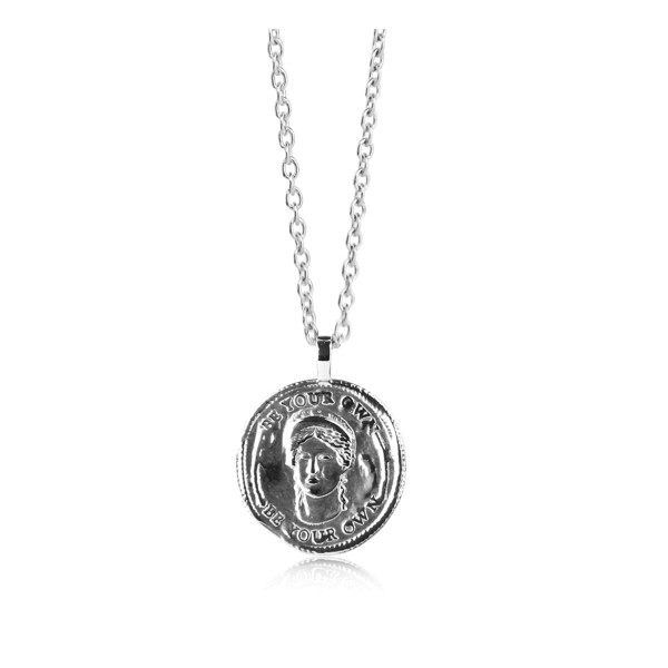 Jeberg Jewellery Kette Be your own muse, Silber