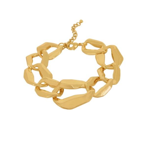 Armband Drift, vergoldet