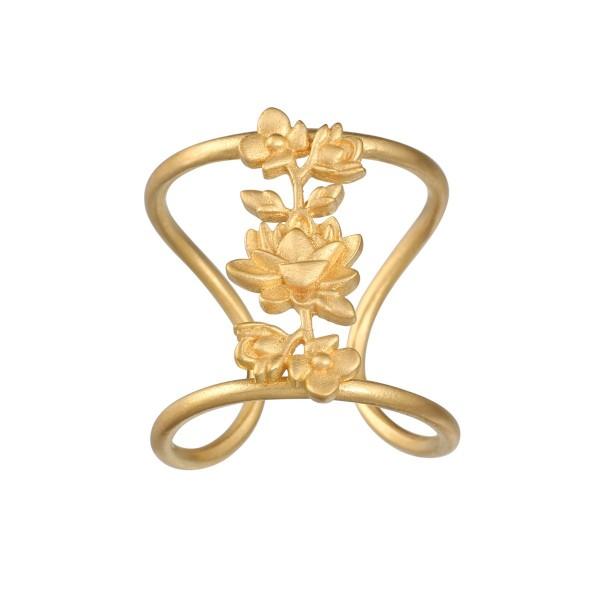 Satya Ring Thriving Spirit, vergoldet