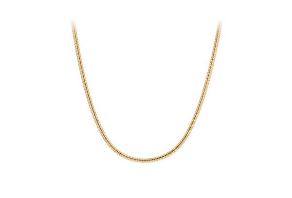Pernille Corydon Kette Snake, vergoldet