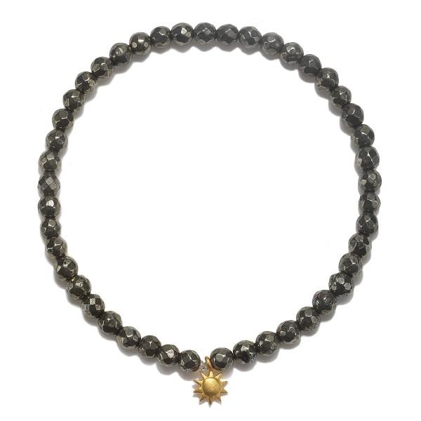 Satya Armband Promise of Prosperity, vergoldet