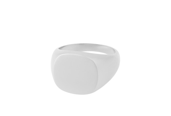 Unisex Ring Solid, Silber