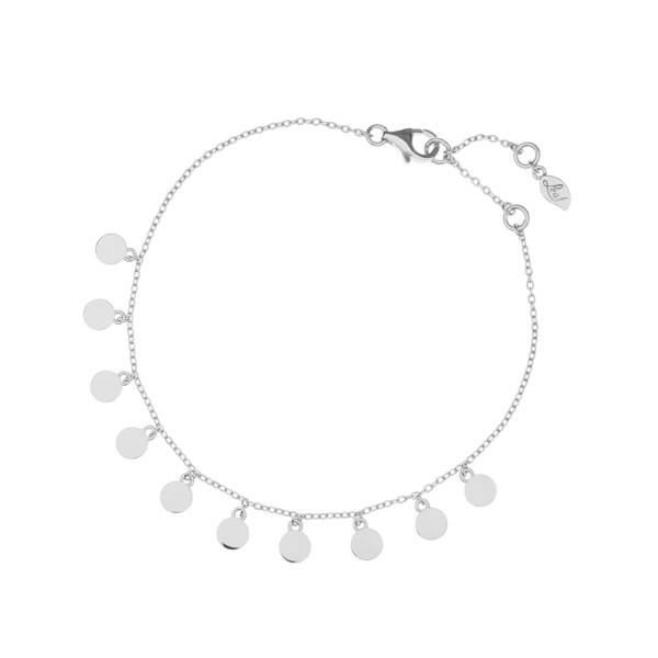 Armband Platelet, Silber